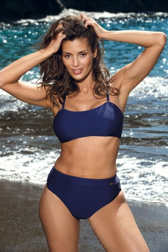 Atskiras mėlynas maudymosi kostiumėlis RACHELA