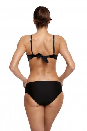Juodas atskiras maudymosi kostiumėlis RIHANNA