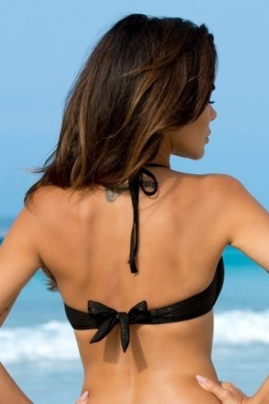 Juodas maudymosi kostiumėlis ANABEL