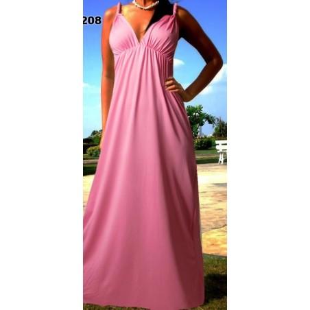 Nuostabi vienspalvė maxi suknelė (004)