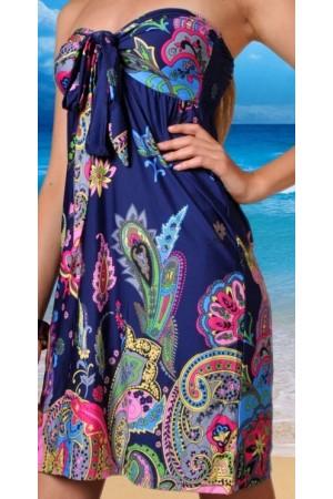 Nuostabi raštuota suknelė (008)