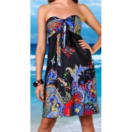 Nuostabi raštuota suknelė (009)