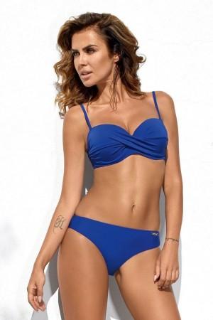Mėlynas dviejų dalių maudymosi kostiumėlis (351)